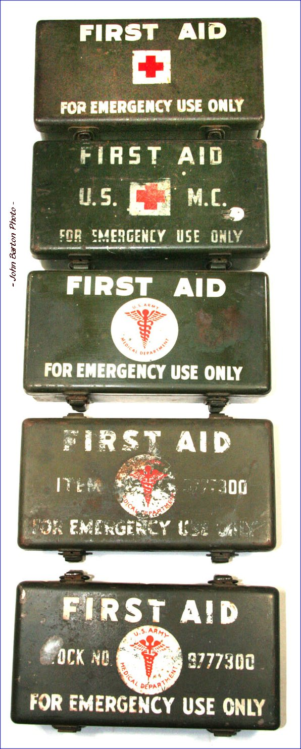 willys mb and ford gpw g503 first aid kits & gas casualties