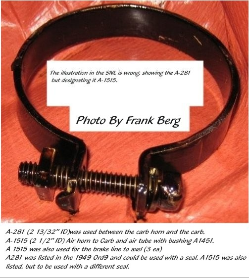 FORD MOTOR GPW8620 Replacement Belt