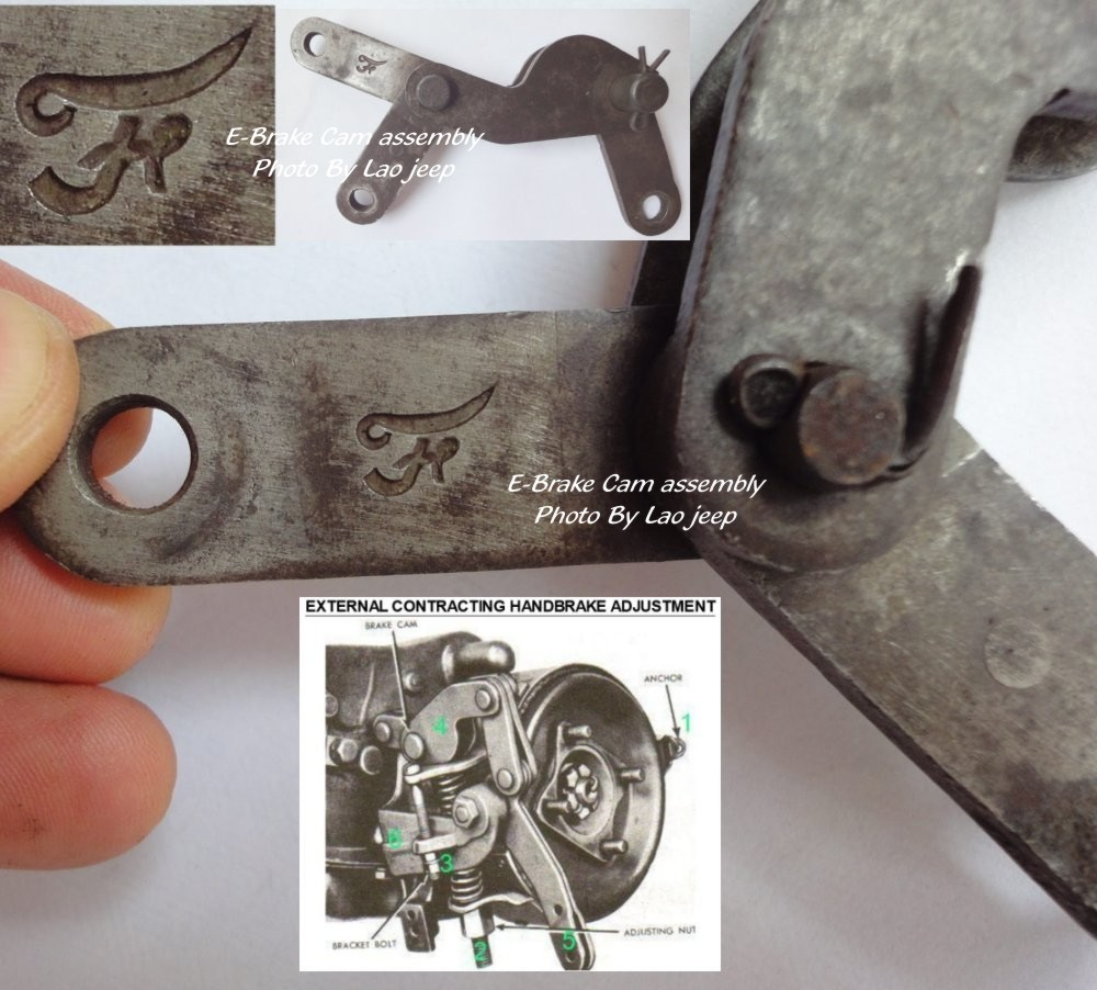 Emergency Brake Cable End Switch Master Cylinder Switch Ebrake Cam Assembly